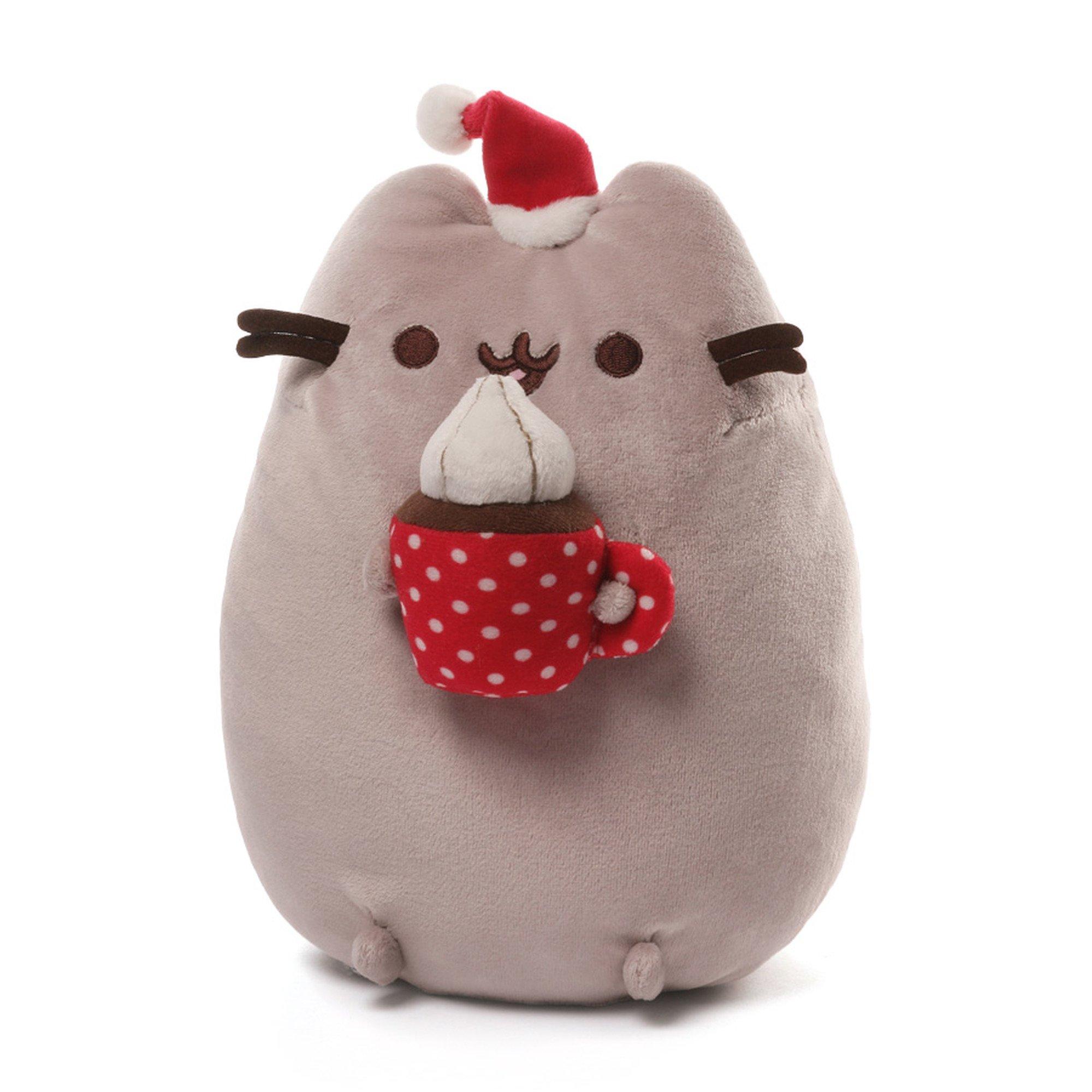 Pusheen Christmas.Gund Pusheen Christmas Snackable 10 Inches