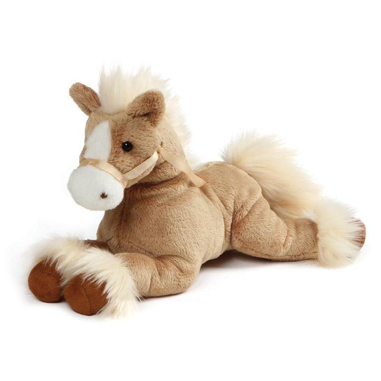 324f0bf788ea Gund Fanning Palomino Horse Tan Laying Down 12 Inches - Natures ...
